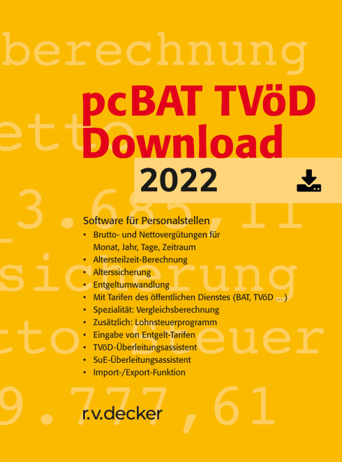 pcBAT TVöD Download