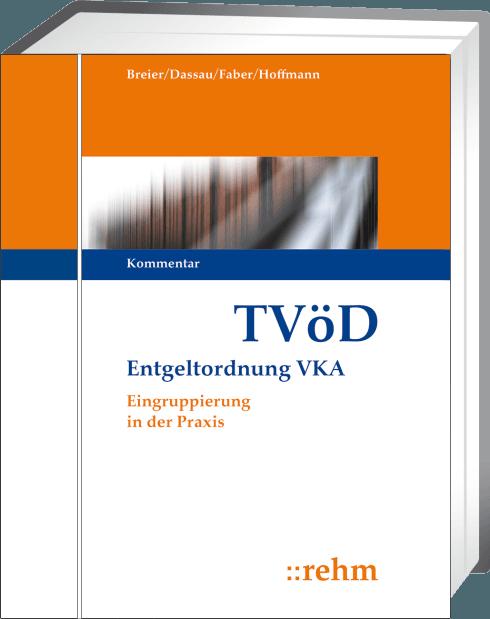 Tvöd Kommentar Inkl Lexikon Arbeitsrecht öd Loseblattwerk Zzgl